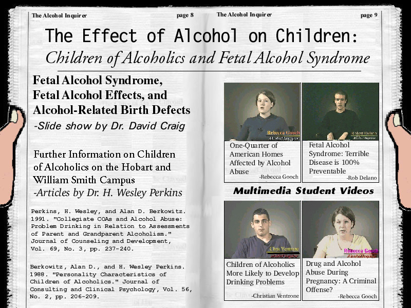 The Effects Of Alcohol On Children Children Of Alcoholics And Fetal